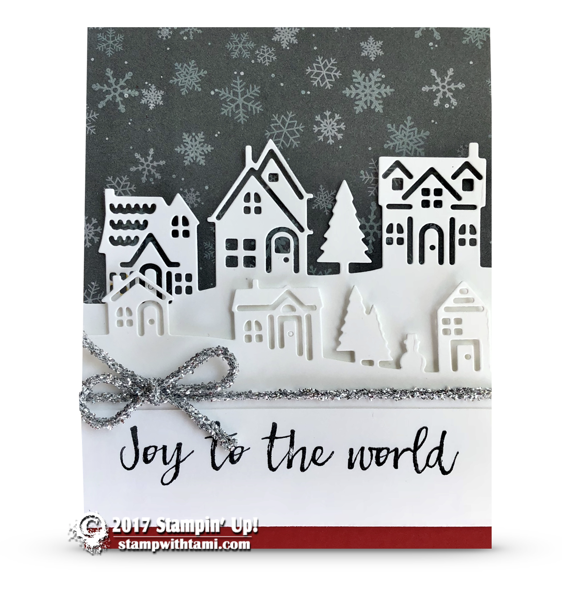CARD: Joy to the World Card from the Hearts Come Home Bundle ...