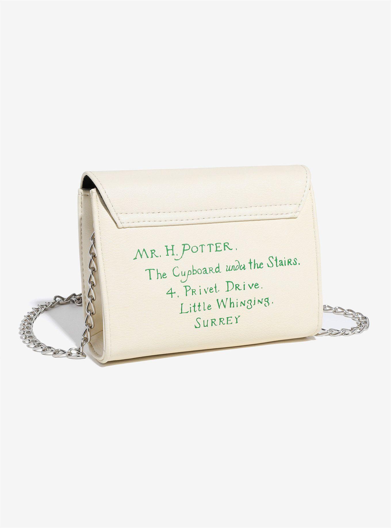 Harry Potter Hogwarts Letter Crossbody Bag Harry potter