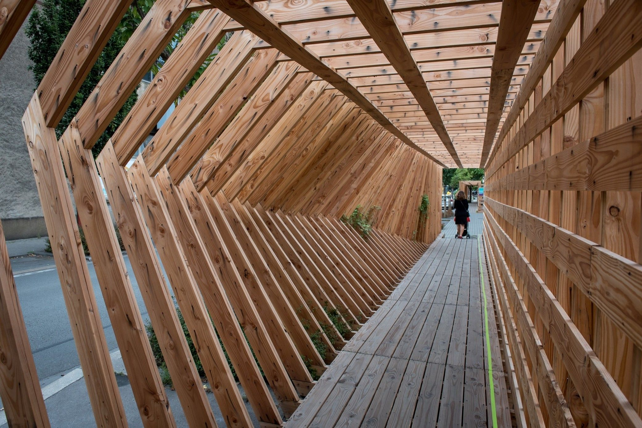 Oscillation Puente Peatonal Puentes Y Arquitectura