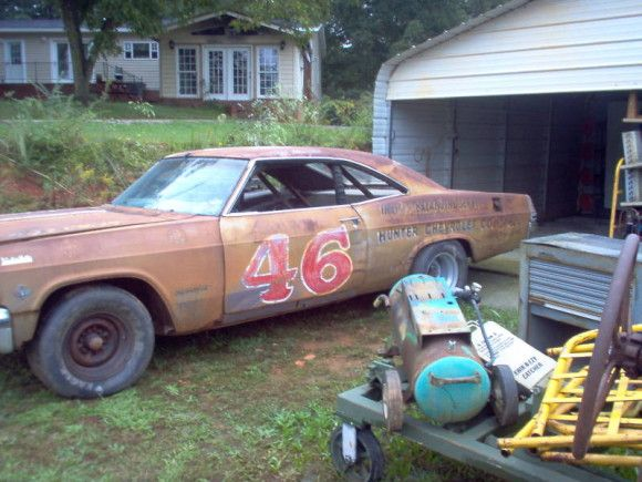 1965 Chevrolet Impala NASCAR Race Car Barn