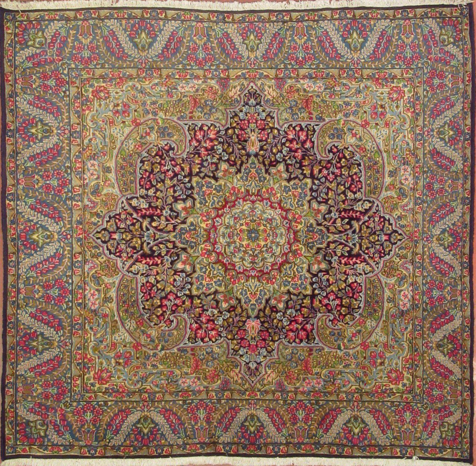 N. 16( GF) – KIRMAN – 200 x 183 cm. – Tappeti Orientali e Moderni ...