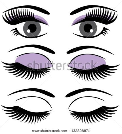 Beautiful Female Eye Illustrator Free Eyes Beauty Vector Download