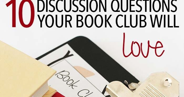 image about Printable Book Club Questions titled 10 Reserve Club Inquiries For Any Ebook: Cost-free Printable Record