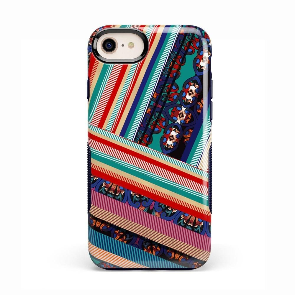 Layered Patchwork iPhone Case