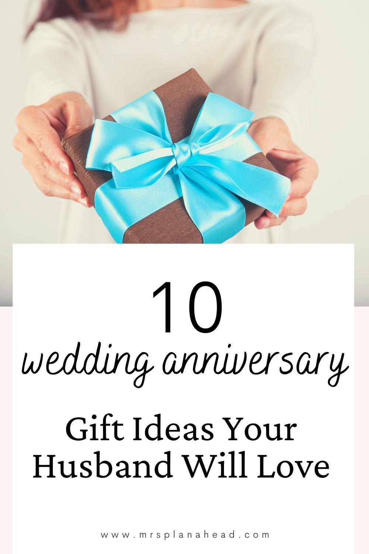 10 year wedding anniversary gift for husband uk