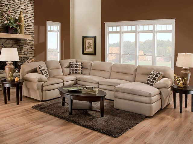 Beau Get Information On Chelsea Home Furniture 185330 6227 SEC Erie 3 Pieces Sectional  Shiloh Mocha.