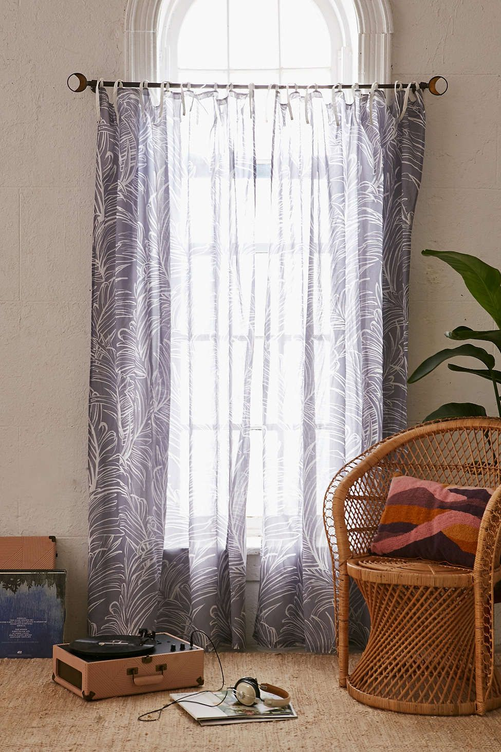 Edna Palm Curtain For the Home Pinterest Curtains Bedroom and