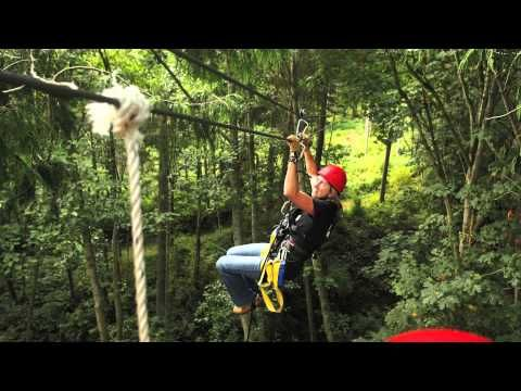 Camano Island Zip Line Canopy Tour