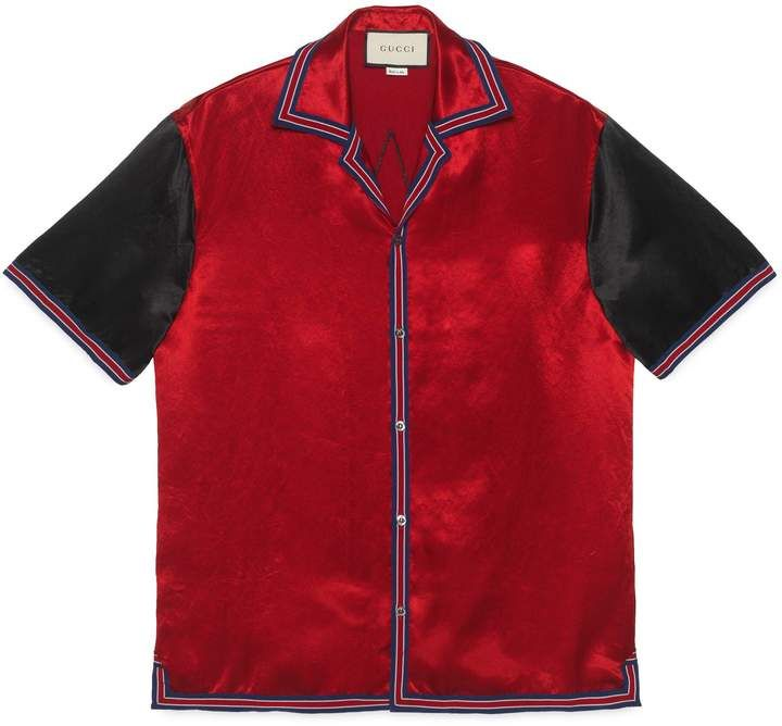 d680dd1b40 Gucci Acetate bowling shirt with GG star in 2019 | Products ...
