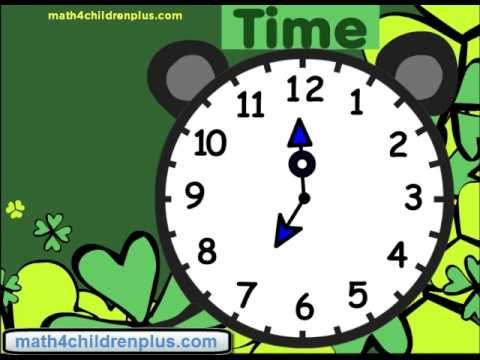Teach Kids How To Tell The Time At Half Past The Hour E G 1 30 2 30 3 30 Or Half Past One Youtub Superkids Reading Program Superkids Reading Teaching Kids