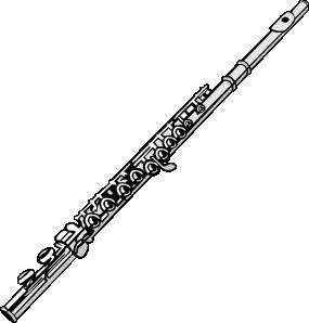 Flute In C Clip Art
