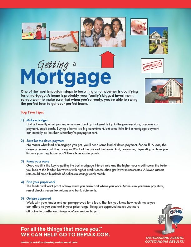 5 quick tips on getting a mortgage Housing Market Tips  Tricks