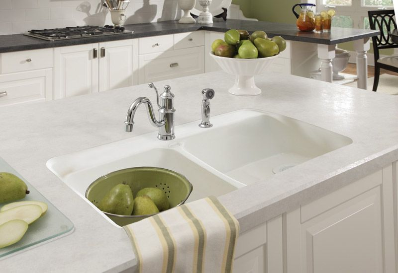 Wilsonart Carrara Santorini Best Kitchen Countertops