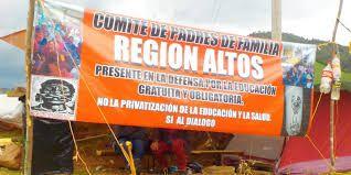 Videos del Operativo paramilitar-policíaco contra bloqueo magisterial-popular en San Cristóbal de las Casas