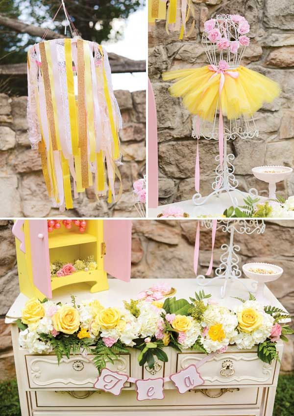ideas para decorar un cumpleaos infantil de una nia