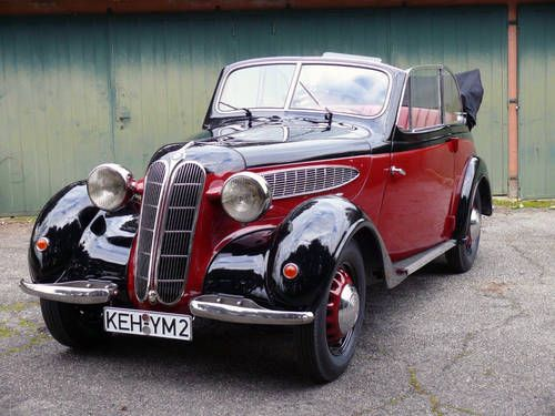 BMW 320 Cabriolet 1938 For Sale on Car And Classic UK ...
