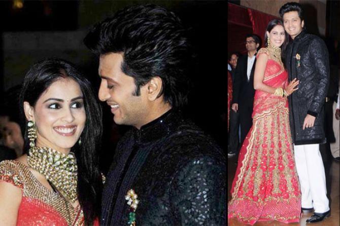 Beautiful Wedding Story Of Genelia And Riteish Deshmukh Pinterest