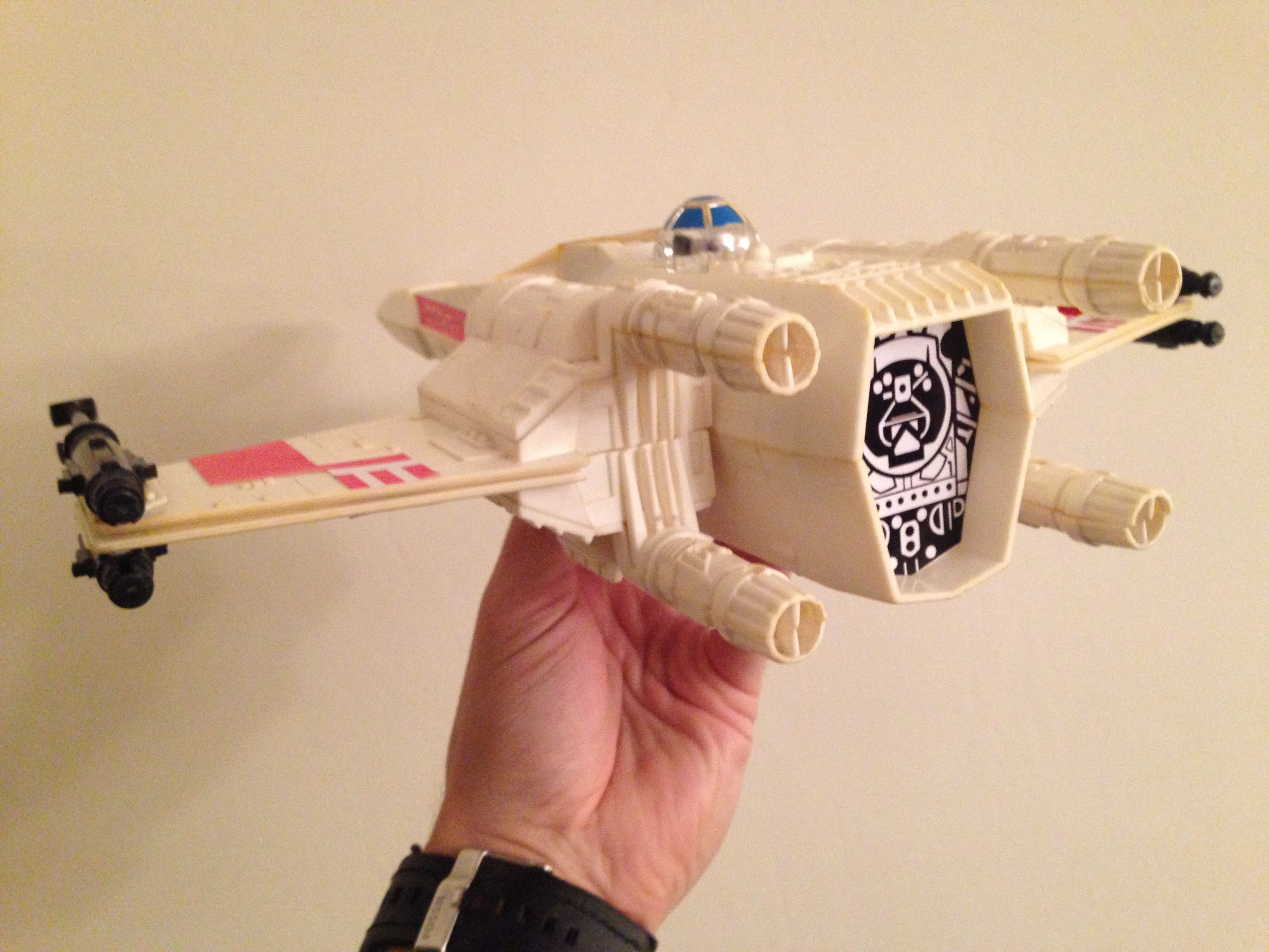 Restored Original 1977 Palitoy Kenner X Wing Fighter Vintage Star Wars Toys Vintage Star Wars Star Wars Toys