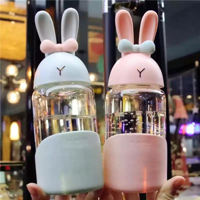 Cute Rabbit Water Bottle #cutecups