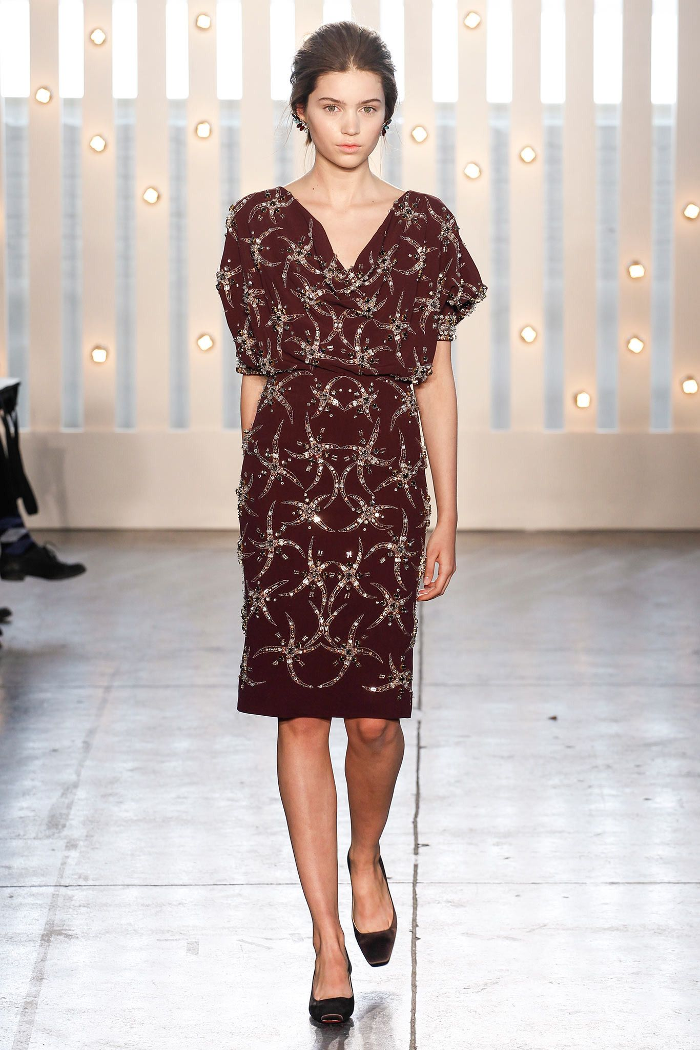 Jenny Packham FallWinter 2014-2015 Collection – New York Fashion Week