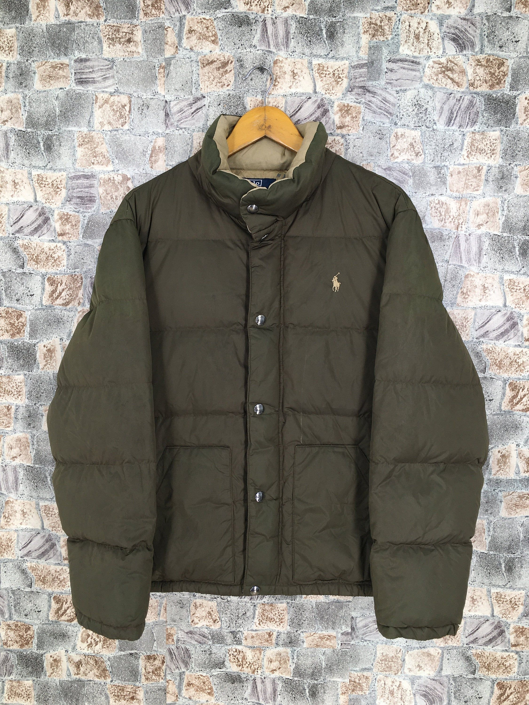 Vintage Polo Ralph Lauren Puffer Jacket Large Men Hip Hop Ralph Lauren Goose Down Winter Jacket Green Size L By C Winter Jackets Vintage Polo Polo Ralph Lauren [ 3000 x 2250 Pixel ]