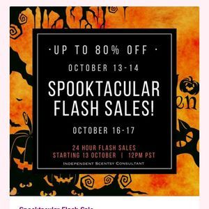 Scentsy Freaky Friday Flash Sale