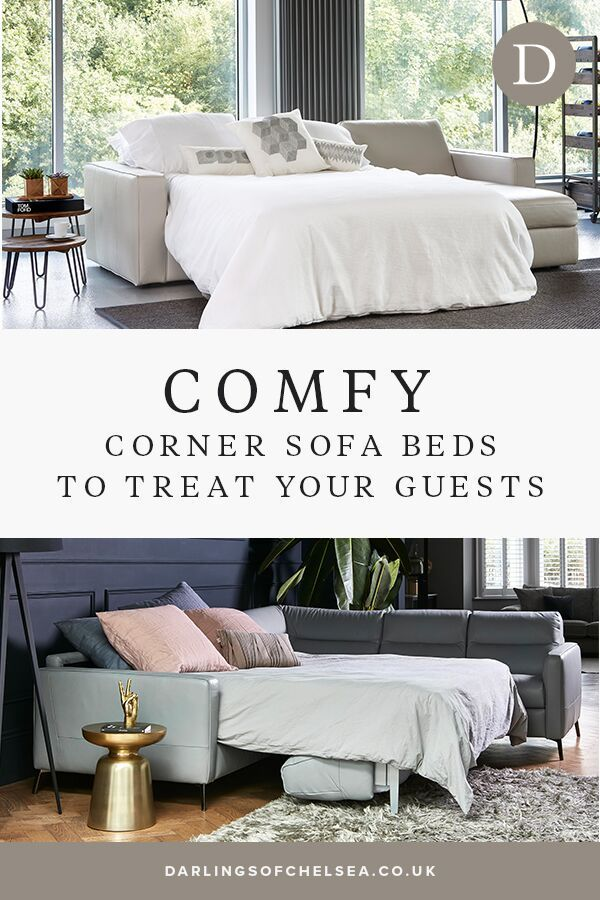 Corner Sofa Bed To Treat Your Guests