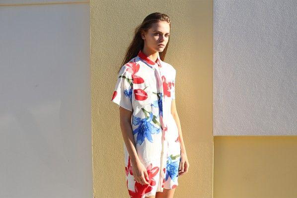 #shirtdress #floral #colour #women #clothing #spring #summer