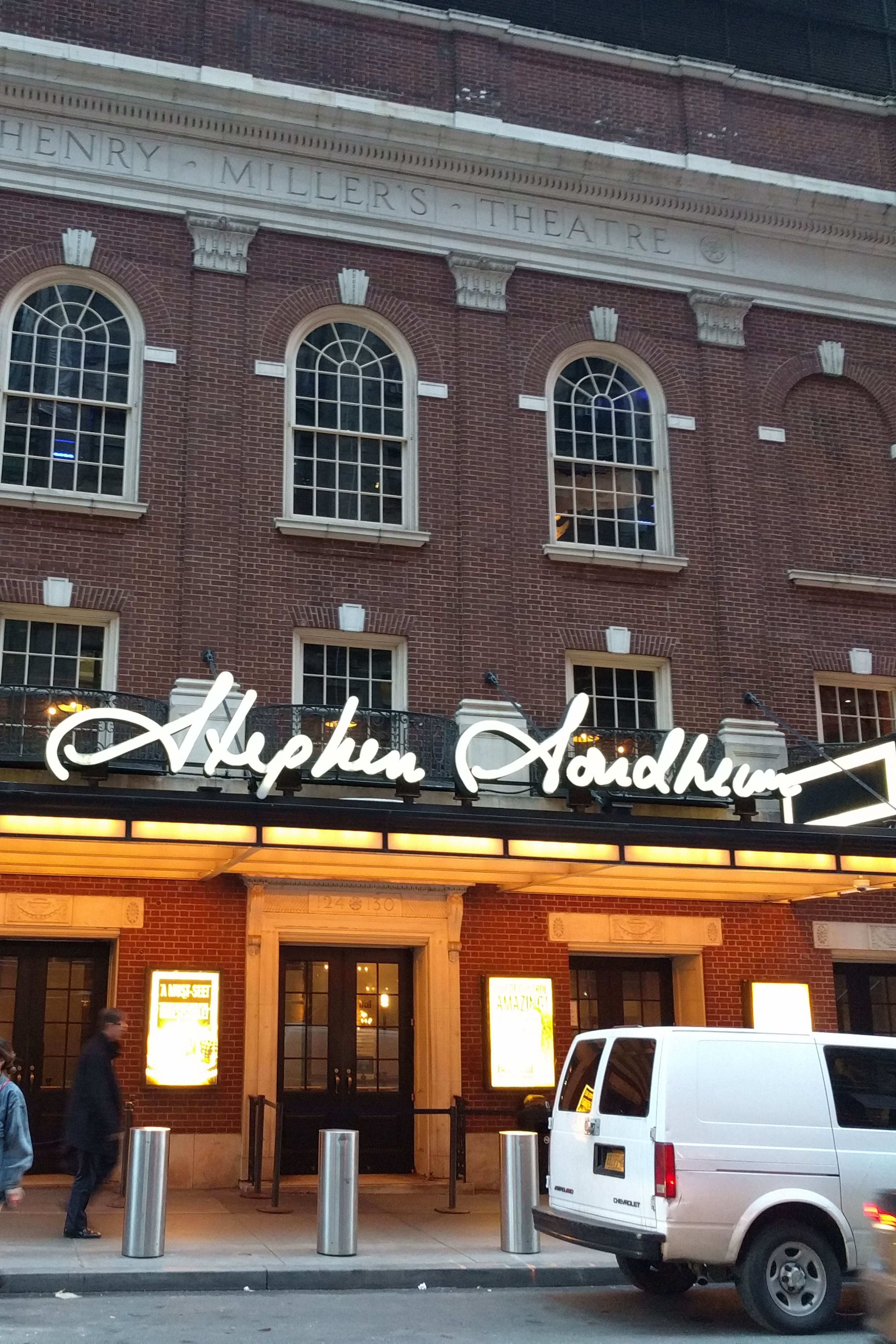 New York City, NY > Stephen Sondheim Theatre, Formerly The