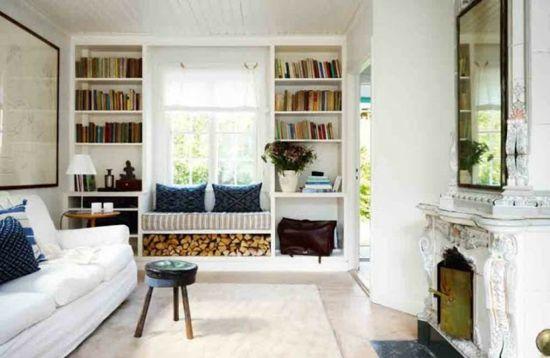 Sitzbank Fenster gemütliche sitzbank am fenster helle leseecke einrichten