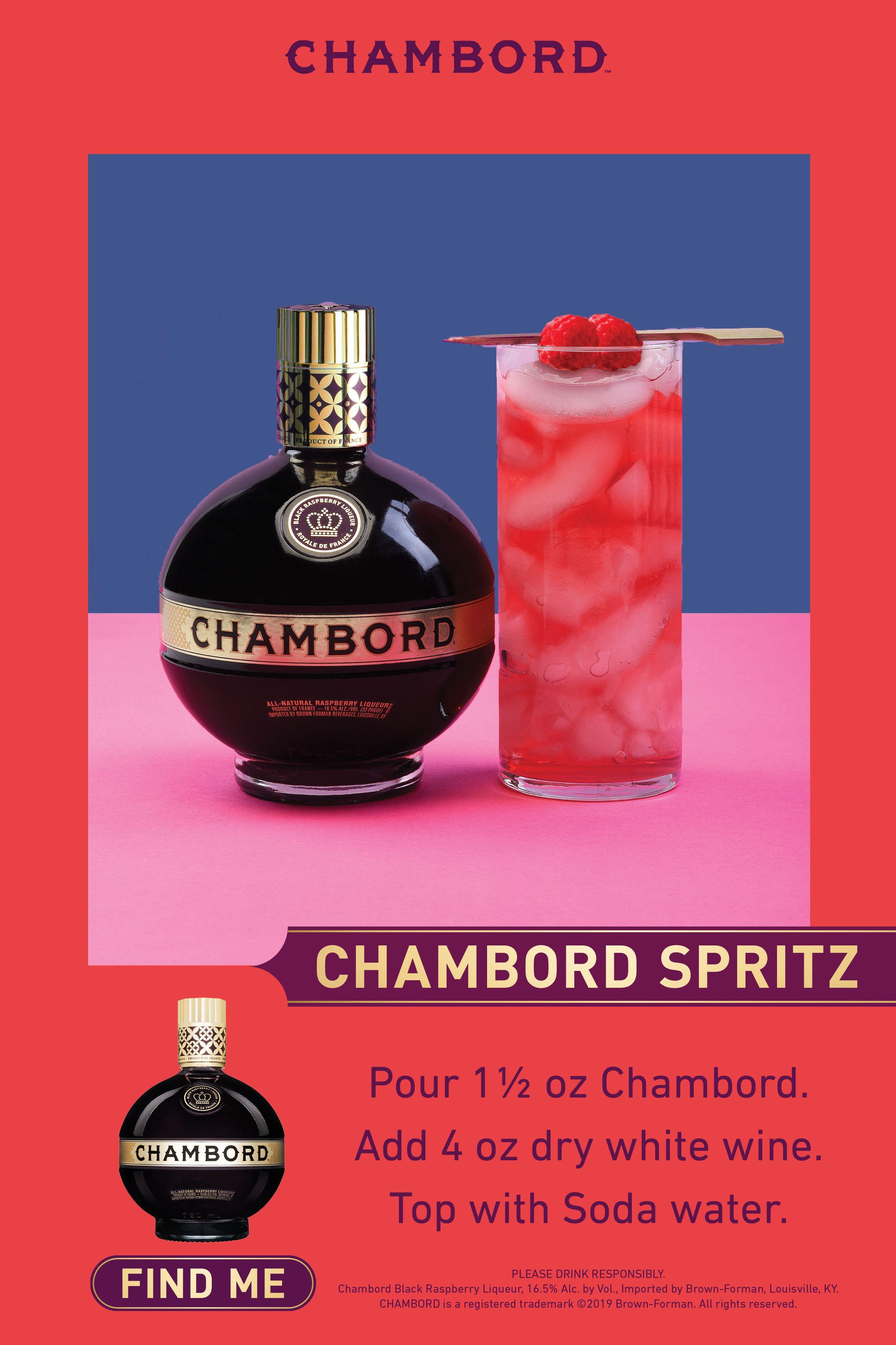 Chambord Spritz Alcohol Drink Recipes Boozy Drinks Alcoholic Drinks