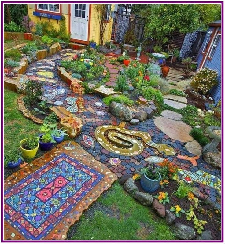 Photo of Whimsical Garden Paths Vines