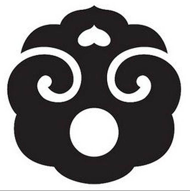 Kamon What I Dont Know Tsuba Kamon Circles Pinterest