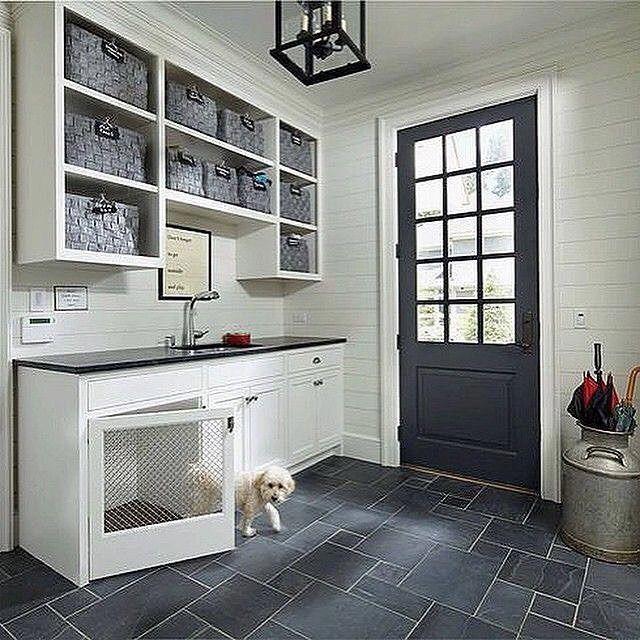 Dog Room Kennel Built Ins Dogroomkennelbuiltins Mudroom