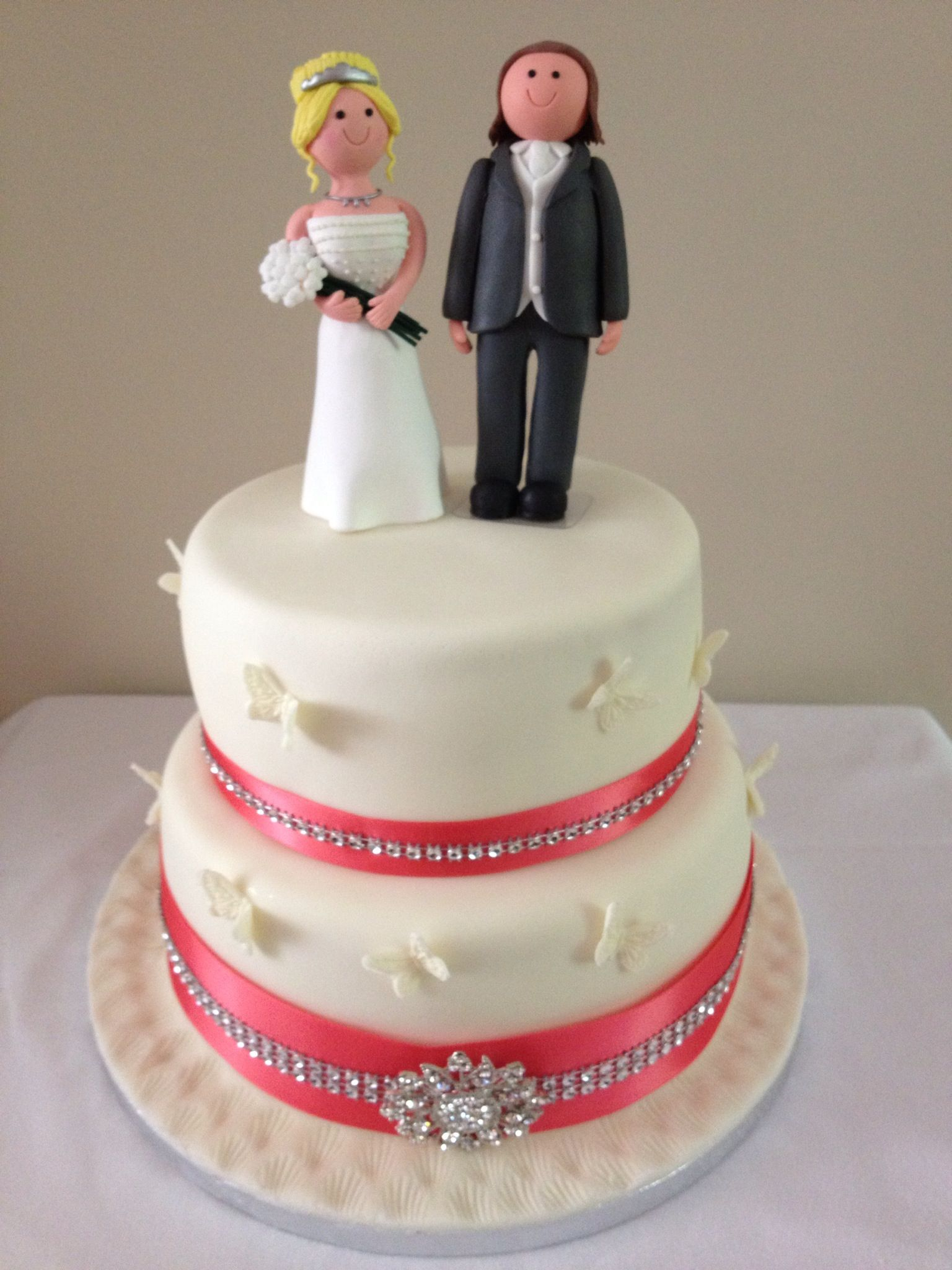 Wedding Cake My Cakes Pinterest Picture to Pin on ... - photo#47