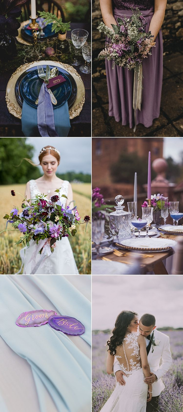 Ultra Violet Wedding Pantone Colour 2018 | Full image credits in the blog feature |