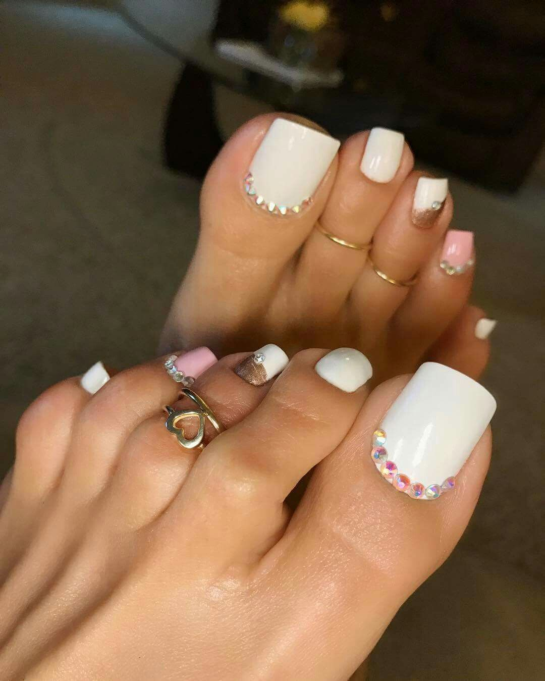 Pin by 👑🌟℘Ԅıŋɕɛʂʂıɬą🌟👑 on иαιℓѕ♤   Pinterest   Pretty toes ...