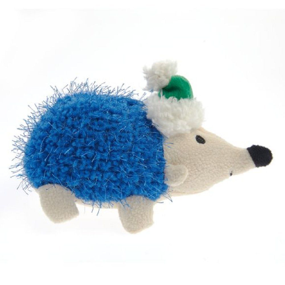 Hedgehog Plush Squeaker Dog Pet Toy 7 5 In Nice Of Your