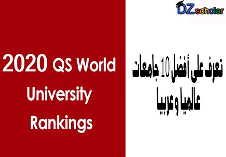 Qs World University Rankings 2020 University Rankings World University University