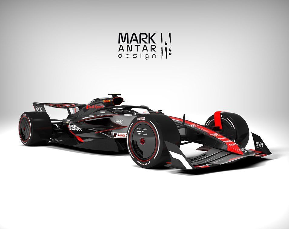 Should Audi race in @f1 in 2021? 🤔 Design, 3D modelling ...