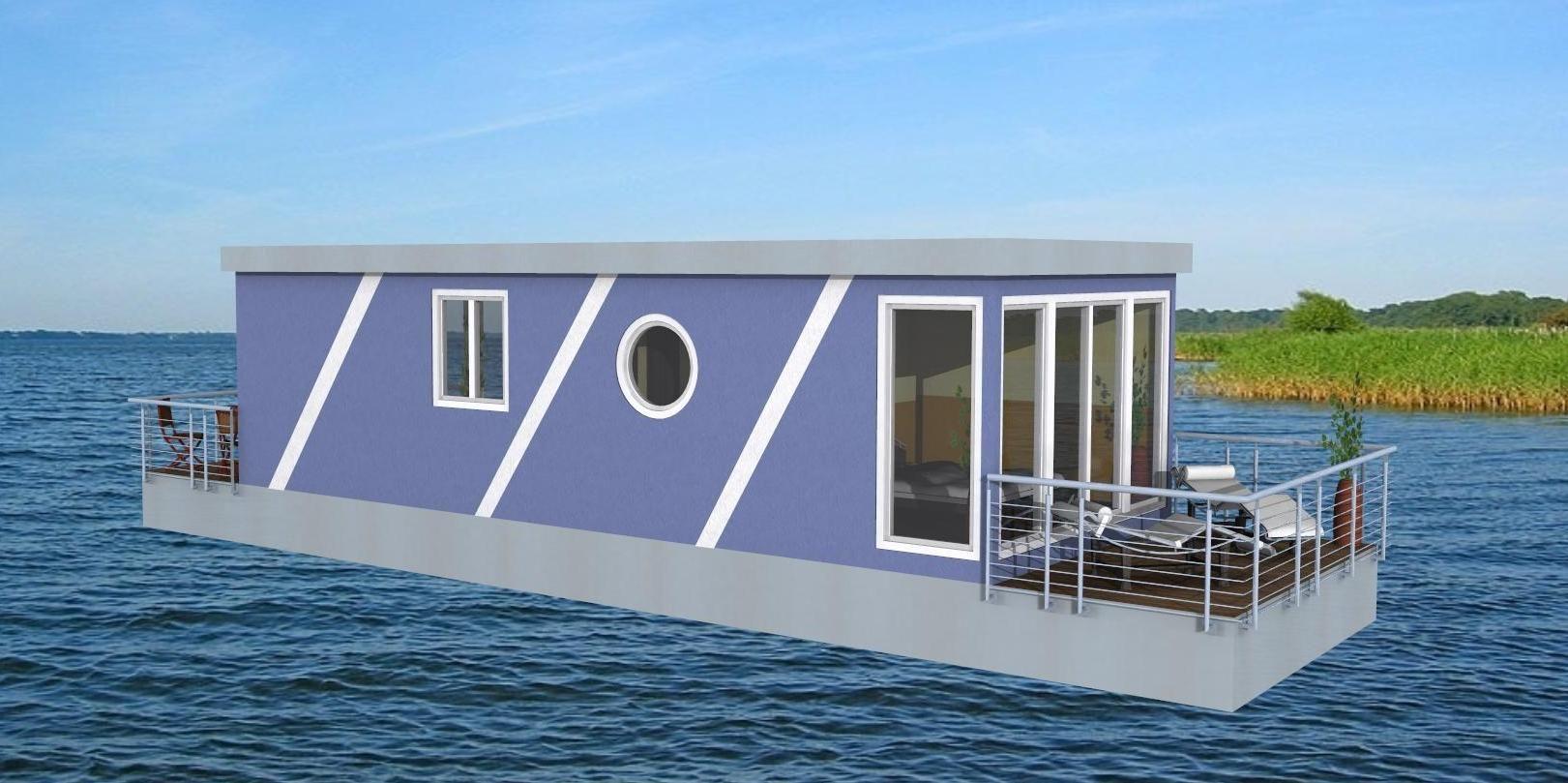 hausboot5 hausboot pinterest hausboote mobilheim und holzterrasse. Black Bedroom Furniture Sets. Home Design Ideas