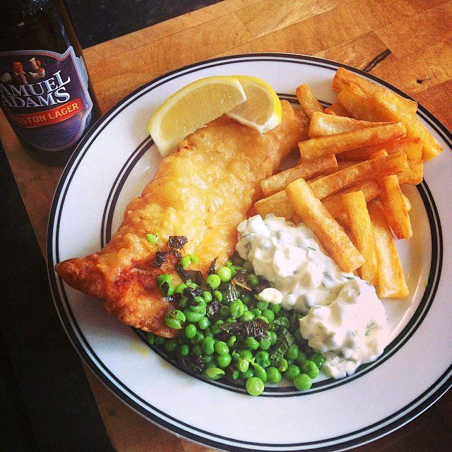 #Homemade #FishAndChips - Grab a beer and get started! It doesn't get any better than this!