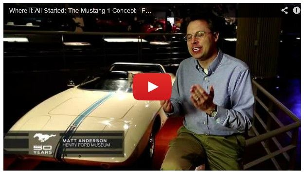 Original Ford Mustang Concept Back In The Spotlight