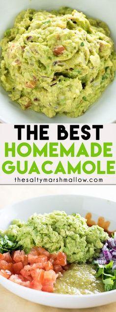 The Best Guacamole #easyrecipes