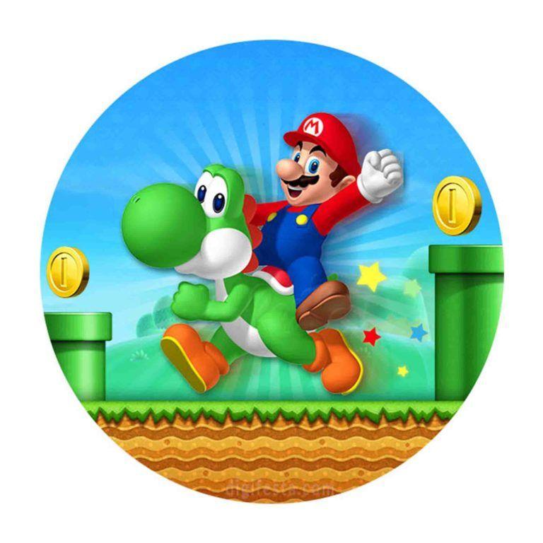 Convite Super Mario Gratis Para Baixar Editar E Imprimir Super Mario Festa De Aniversario Mario Decoracao Mario Bros