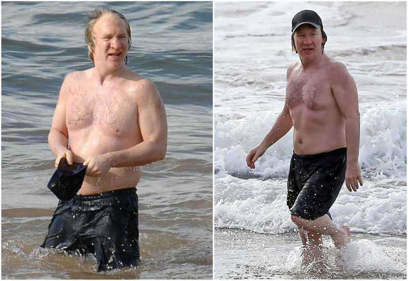 Bill maher height and weight