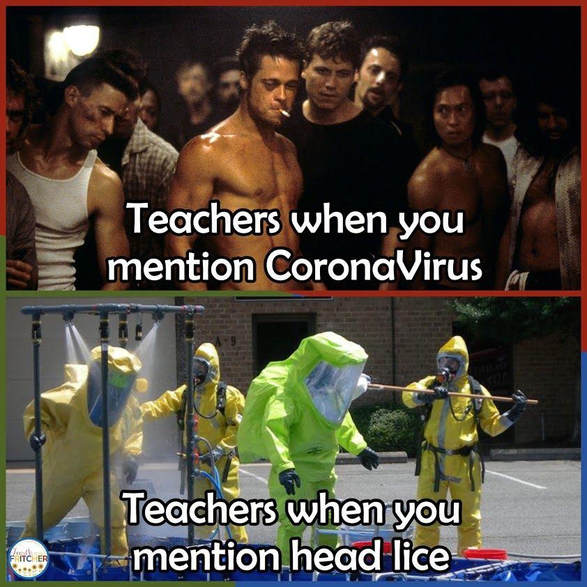 Lice At School And Home Teacher Jokes Teaching Humor Teacher Memes