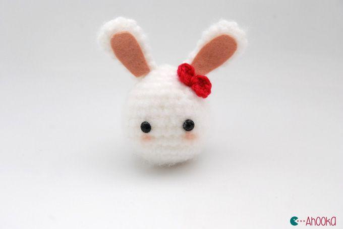 Amigurumi Bunny Free : Amigurumi bunny girl free crochet pattern tutorial free