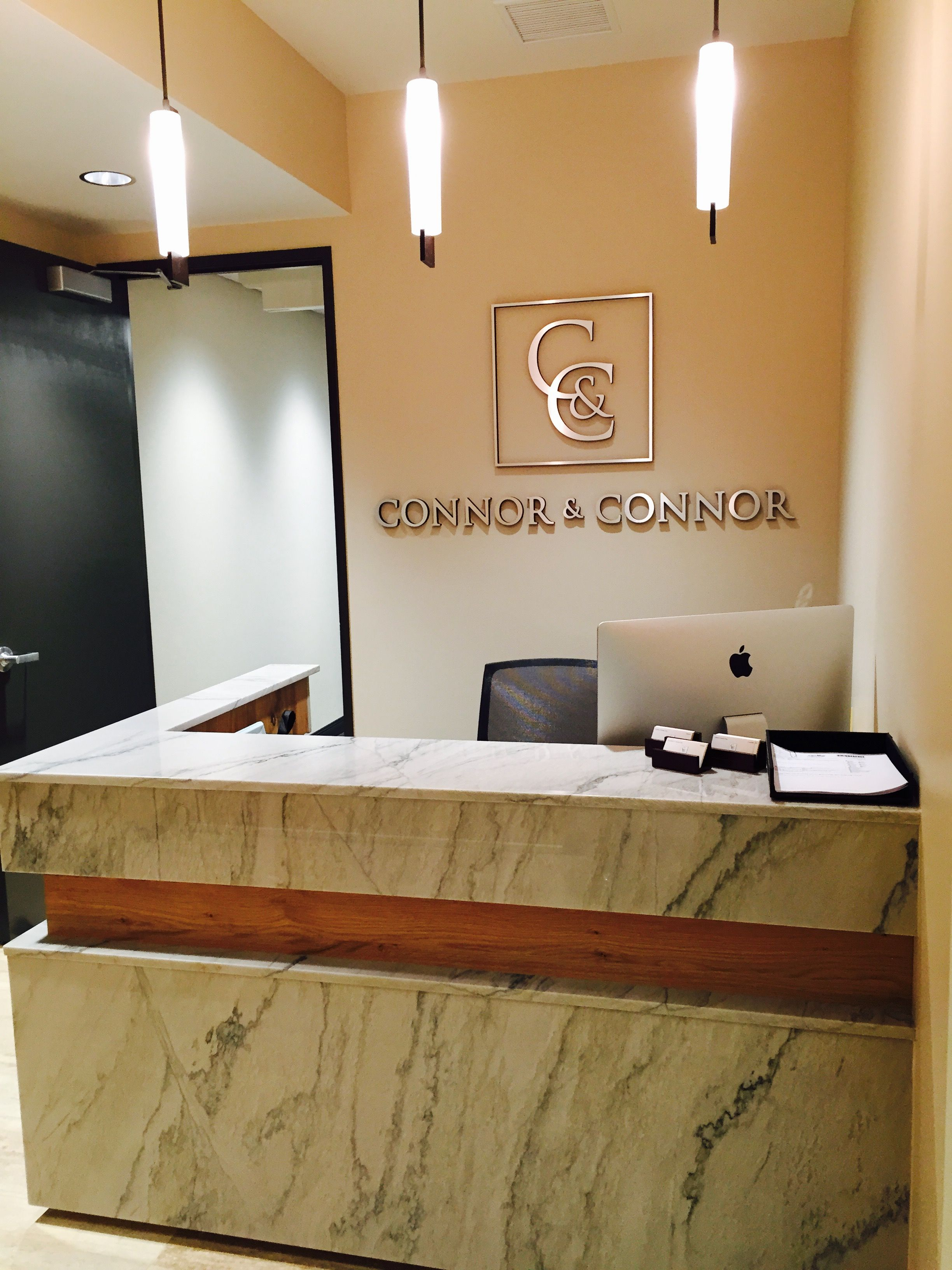modern office reception design. Connor And Law Offices Reception Desk Modern Office Design