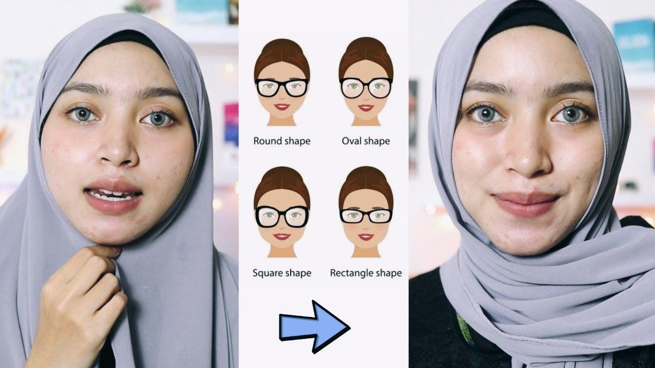 Tutorial Memakai Hijab Pashmina Untuk Muka Bulat Ragam Muslim Bentuk Wajah Wajah Riasan Kreatif
